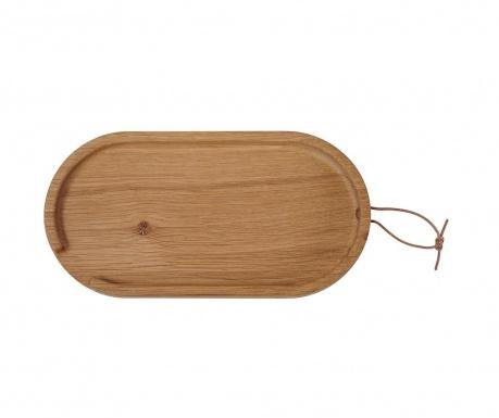 Servírovací podnos Flip Oval Small Oak