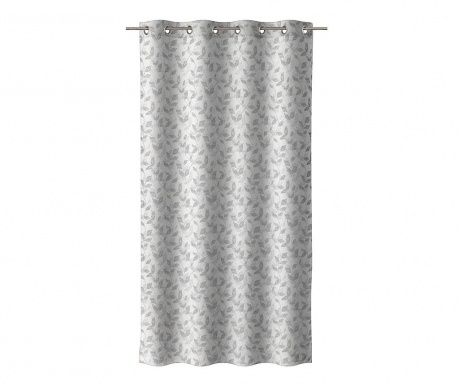 Závěs Leaves Grey 140x260 cm