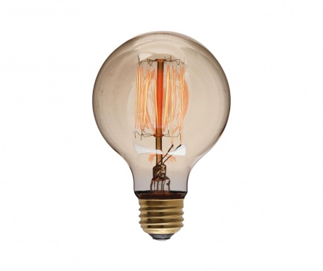 LED sijalka E27-4W Retro Globe 80