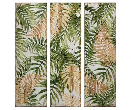 Set 3 tablouri Botanical 30x100 cm
