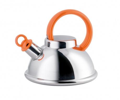Ceainic cu fluier Orion Orange 1.5 L