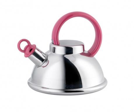 Ceainic cu fluier Orion Pink 1.5 L