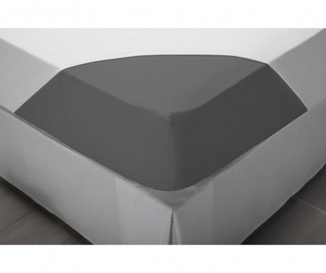 Comfort Grey Perkál Gumis lepedő