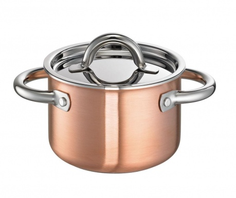 Lonec s pokrovom De Luxe Copper 2 L