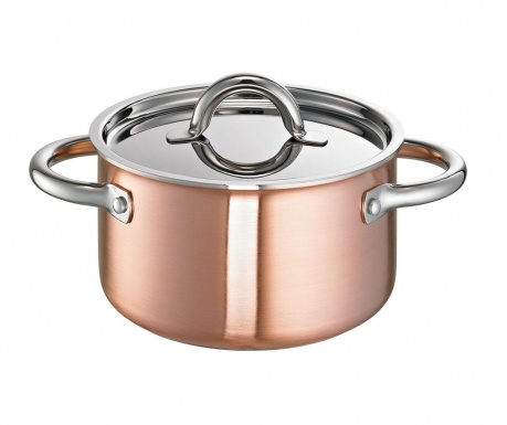 Lonac s poklopcem De Luxe Copper
