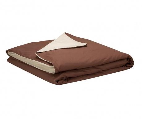 Essential Beige Chocolate Ágytakaró 150x260 cm