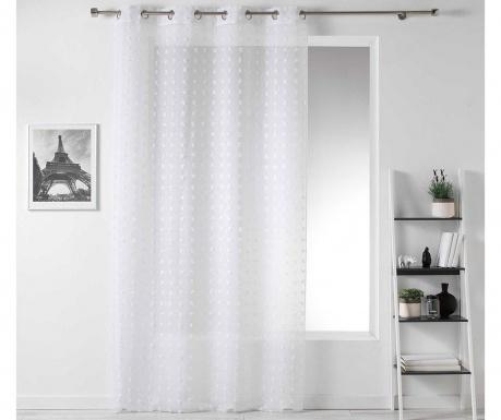 Perdea Pompom White 140x240 cm