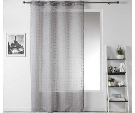 Záclona Pompom Grey 140x240 cm