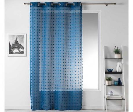 Záclona Pompom Blue 140x240 cm