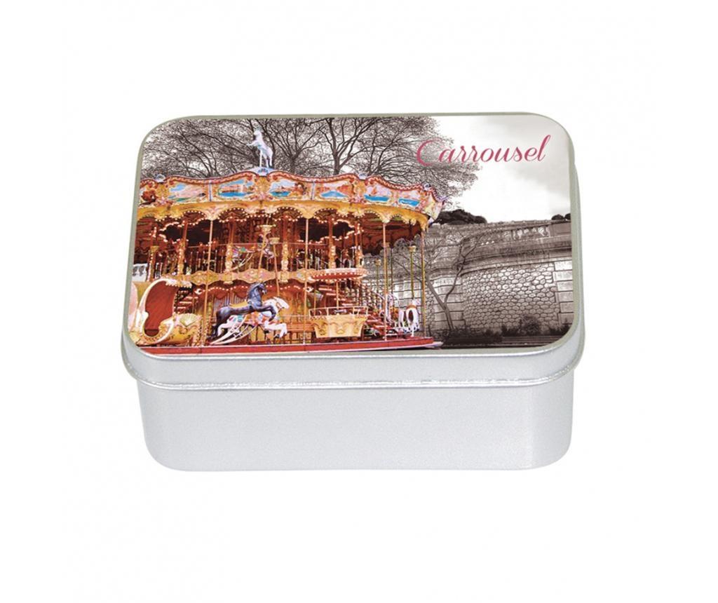 Sapun in cutie cu capac Carrousel Apple