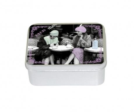 Mydło w pudełku z pokrywką Les Parisiennes
