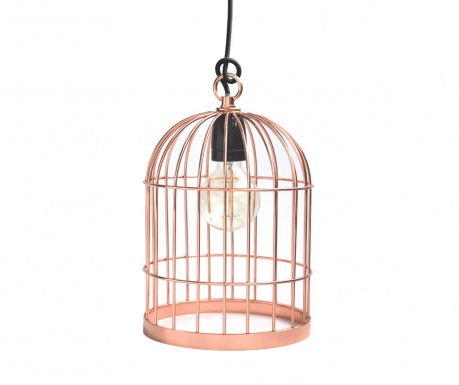 Lustra Bird Cage Copper Black