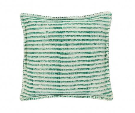 Декоративна възглавница Lines Green White 50x50 см