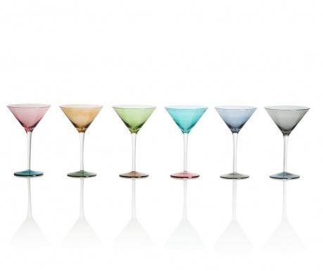 Set 6 kozarcev za martini Invert