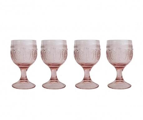 Zestaw 4 kieliszków do wina William Purple