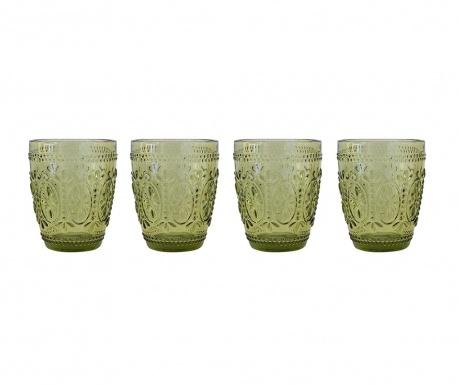 Zestaw 4 szklanek do wody William Green