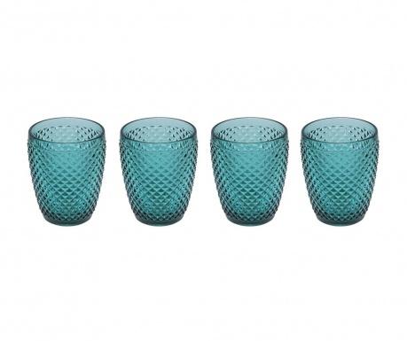 Zestaw 4 szklanek do wody Gaia Emerald Green