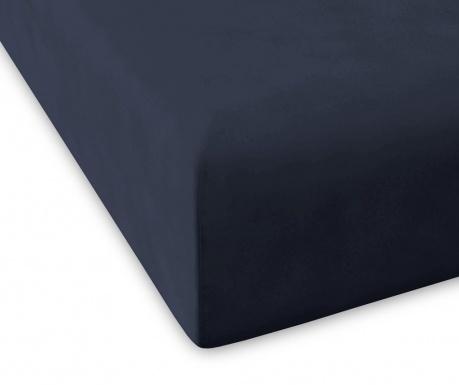 Plahta s elastičnom gumicom Percale Pure Marine