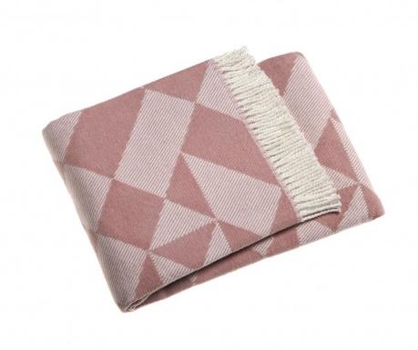 Priročna odeja Milano Pink 140x180 cm
