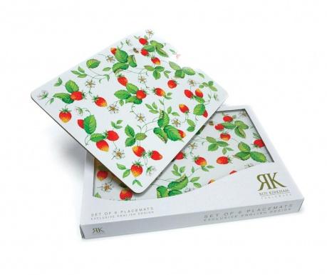 Strawberry 6 db Tányéralátét 22x29.5