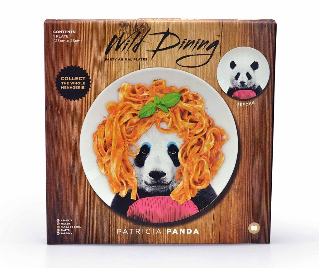 Panda Lapostányér