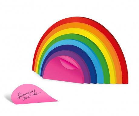 Samolepící poznámkový bloček Rainbow