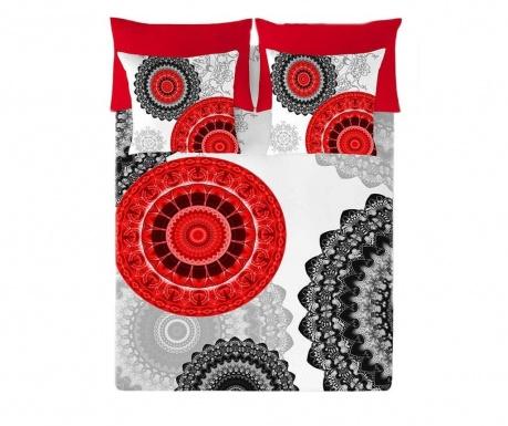 Set de pat  Double Ranforce Mandala Style Extra