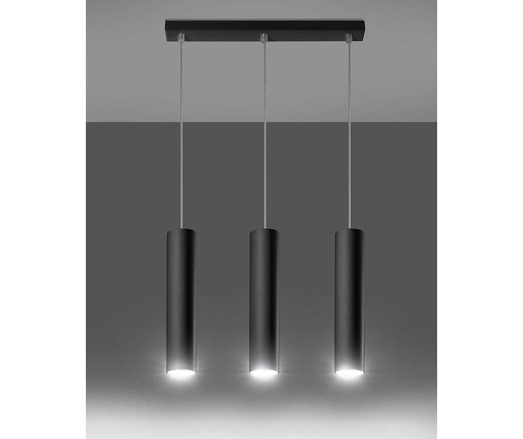 Stropna svetilka Castro Trio Black