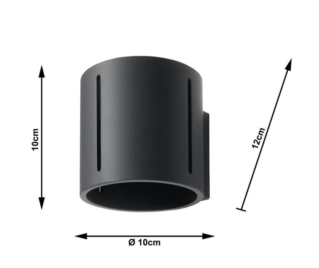 Vulco Black Fali lámpa