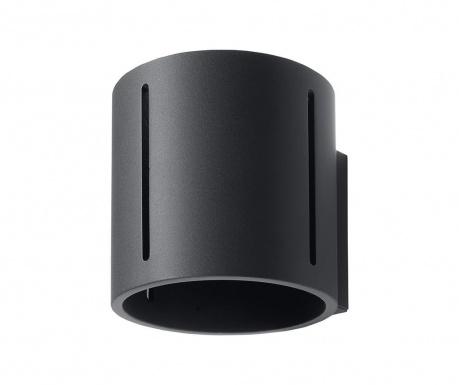 Nástenné svietidlo Vulco Black