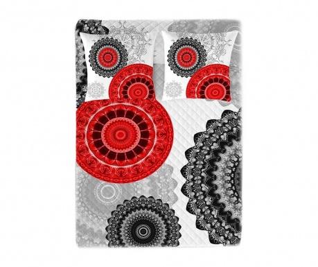 Prešito posteljno pregrinjalo Mandala Style 250x260 cm