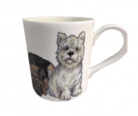 Dog Westie Bögre 400 ml