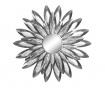 Ice Flower Dekoráció tükörrel