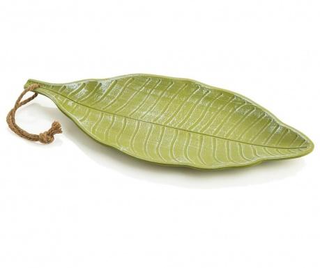 Large Leaf Dísztál