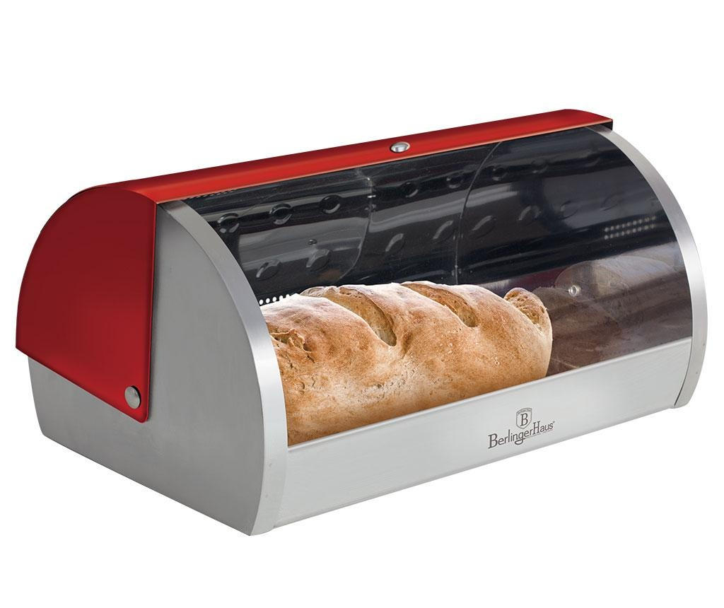 Cutie pentru paine Metallic Red