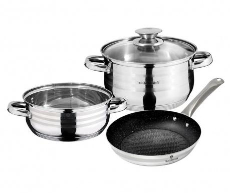 4-dijelni set posuda za kuhanje Gourmet Line