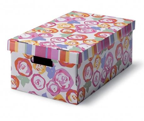 Škatla za shranjevanje s pokrovom Rose