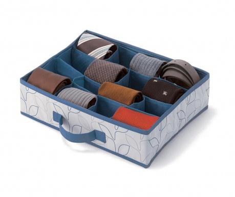 Комплект 2 органайзера за чекмедже Bloom Blue Grey