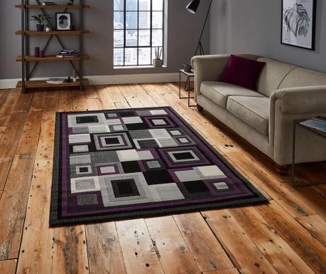 Tepih Hudson Black & Purple