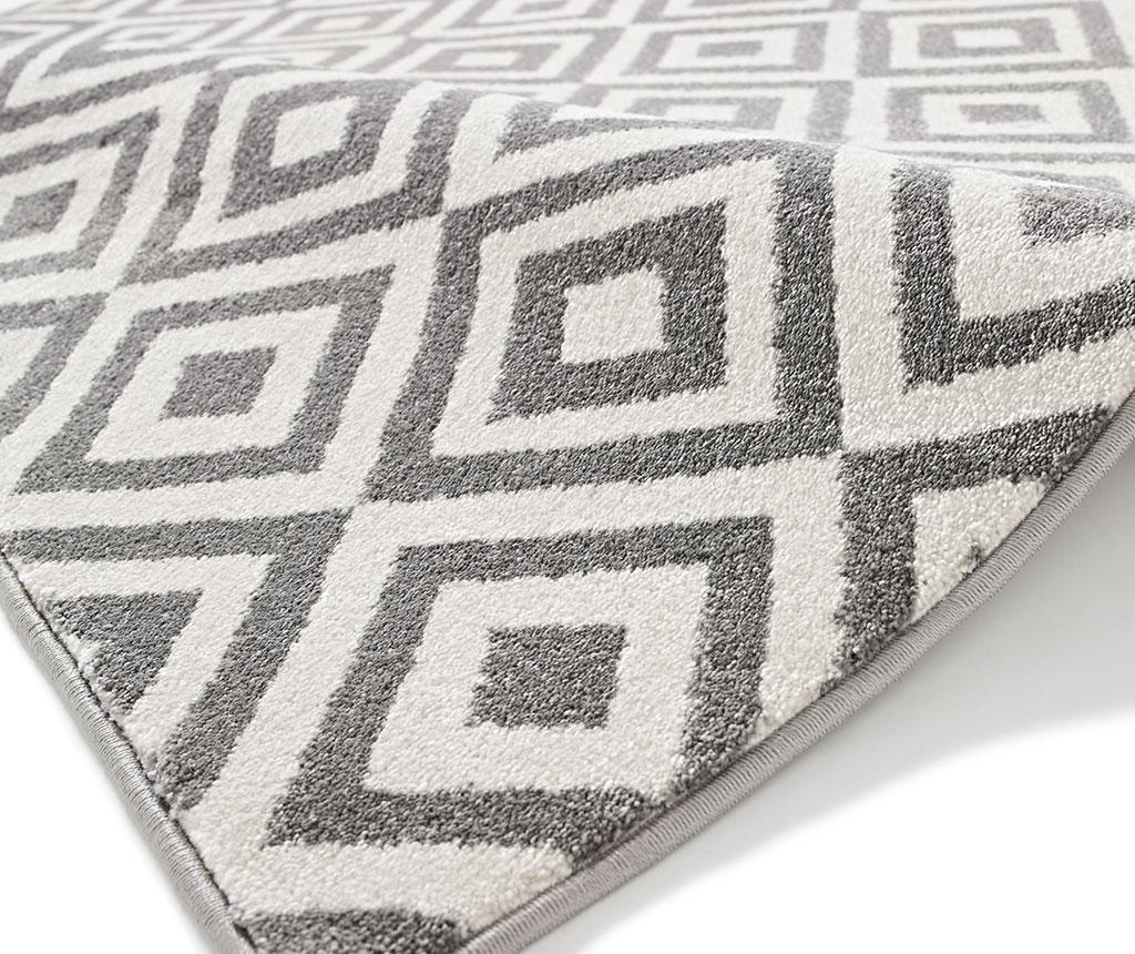 Koberec Matrix Grey White 80x150 cm