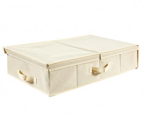 Úložná krabice s víkem London Cream