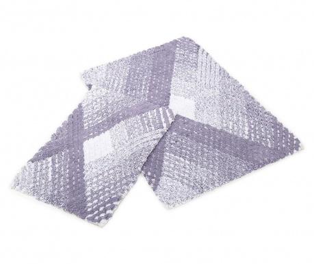 Zestaw 2 dywaników łazienkowych Kirra Purple