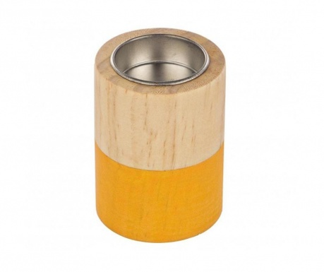 Podstavec na svíčku Cylinder Orange Small