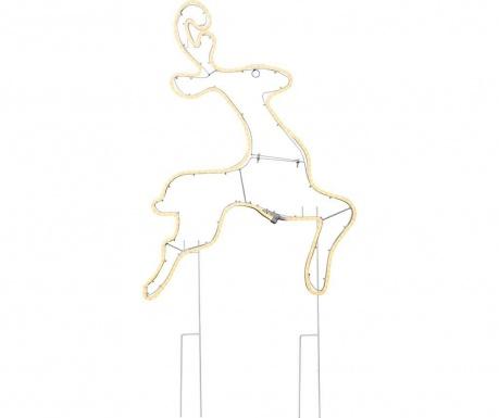 Светеща декорация за екстериор Neon Reindeer
