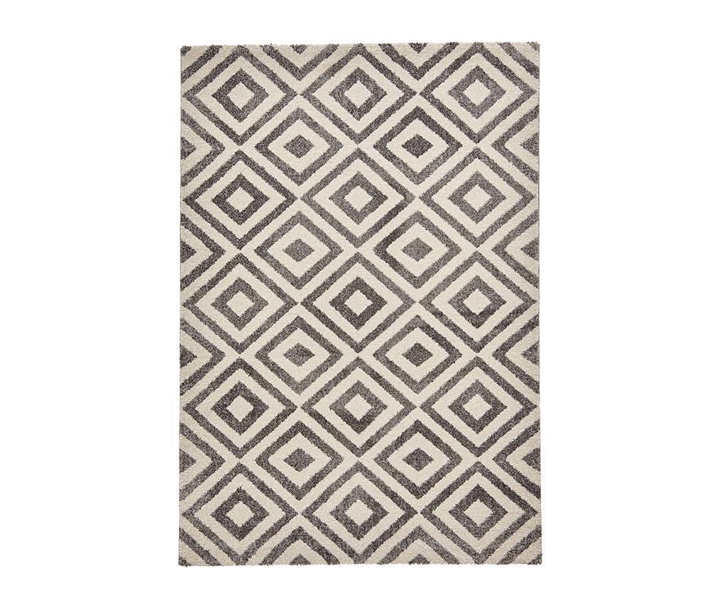 Covor Elegant Grey & White 160x220 cm - Think Rugs, Gri & Argintiu