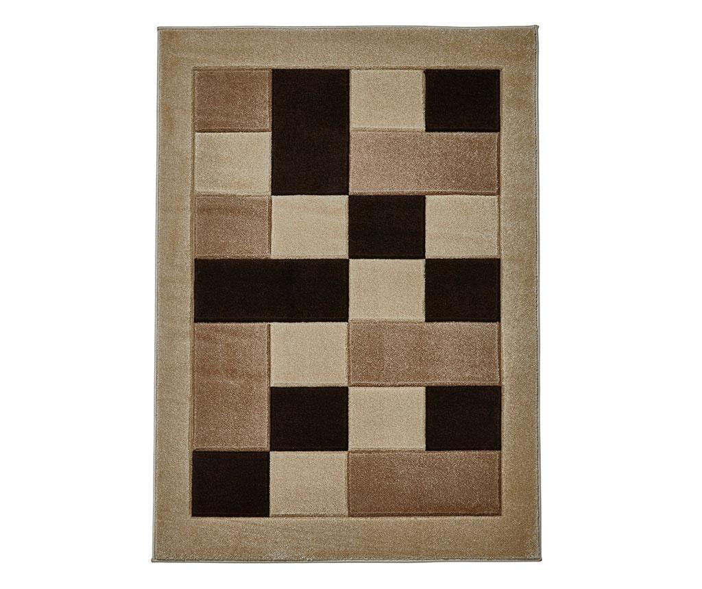 Covor Matrix Beige 60x120 cm - Think Rugs, Crem