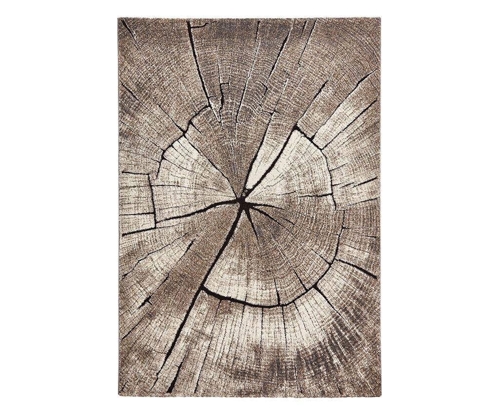 Covor Woodland Beige 120x170 cm - Think Rugs, Crem