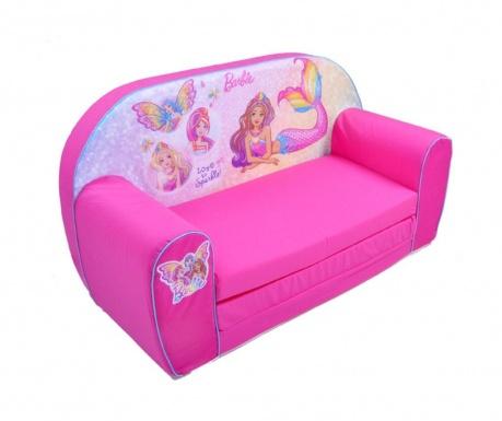 Rozťahovacia pohovka pre deti Princess Barbie