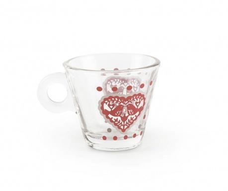 Šálka na kávu Jolly Hearts 80 ml