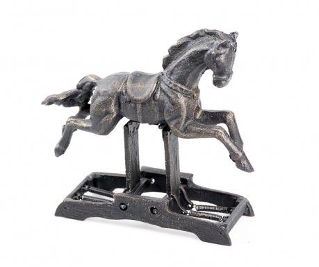 Horse Black Gold Dísztárgy
